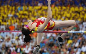 Beitia se cuela entre las grandes y consigue el bronce en salto de altura