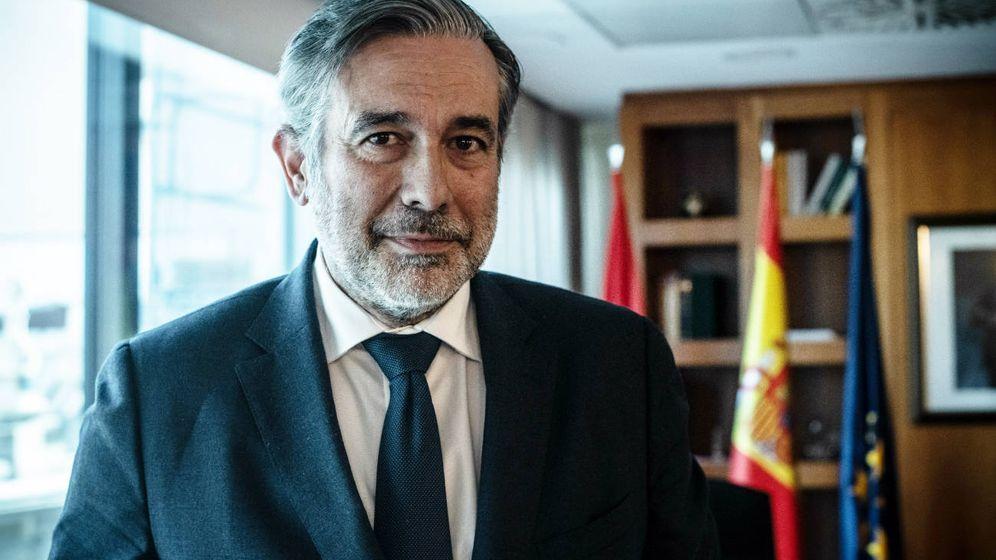 Foto: El consejero de Justicia, Interior y Víctimas del Terrorismo de la Comunidad de Madrid, Enrique López. (C. Castellón)