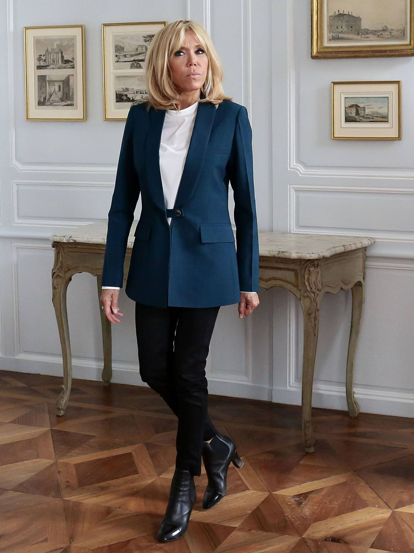 La primera dama francesa, todo un referente de estilo. (Gtres)