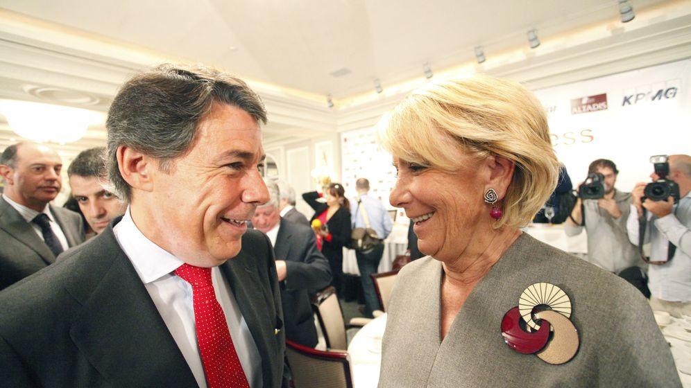 Foto: Aguirre, Aznar, Granados, Rajoy... la vida política de Ignacio González en el Partido Popular