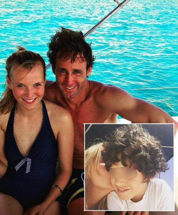 Foto: La hija secreta de Escassi, todo ternura con su 'nuevo' hermano Álvaro