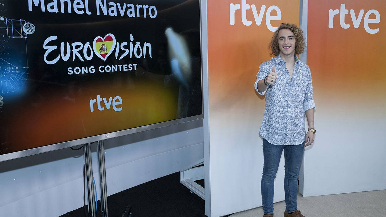 Foto: Manel Navarro, representante español del Festival de Eurovisión 2017