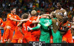 Una genialidad de Van Gaal entierra el sueño de Costa Rica