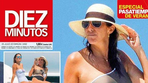 Paz Padilla en la playa con su hija y la recuperación de María Zurita
