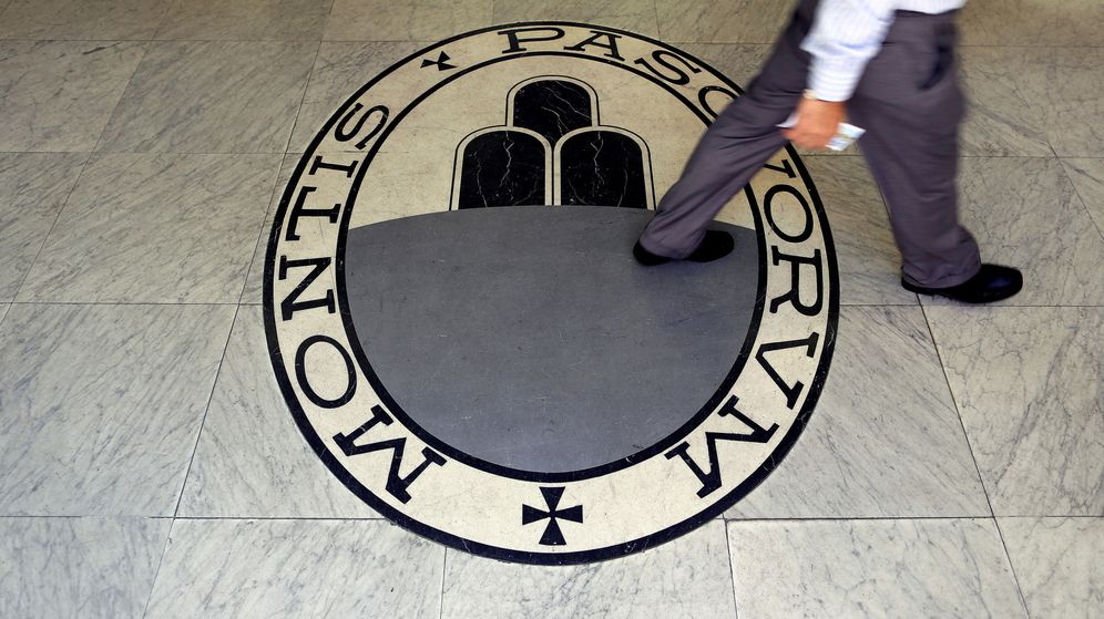 Foto: Logo del Monte dei Paschi de Siena. (Reuters)