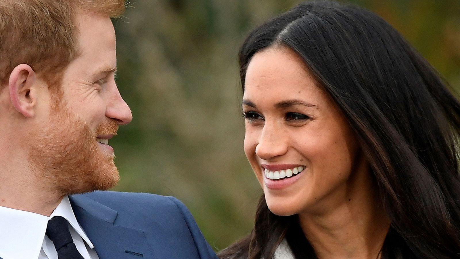 Foto: Harry y Meghan en su presentación ante los medios. (Reuters)