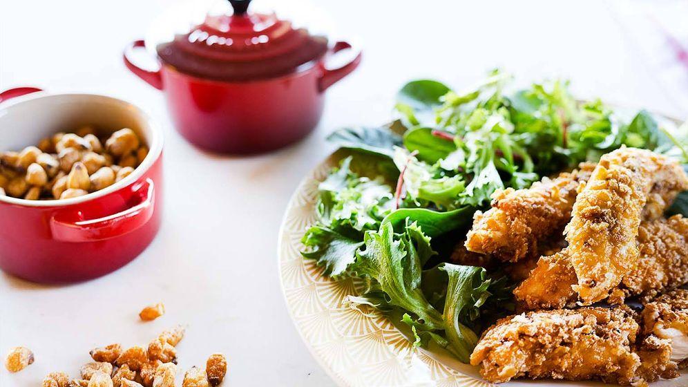 Foto: Con estos palitos crujientes de pollo triunfarás con los peques. (Foto: Snaps Fotografía)