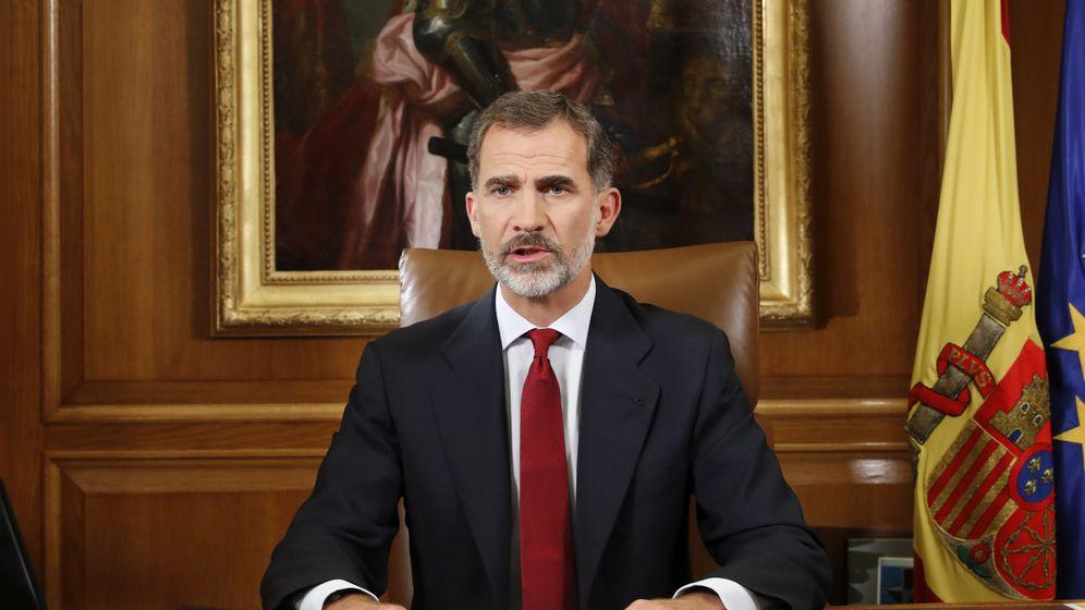 Foto: El Rey durante su discurso. (EFE)