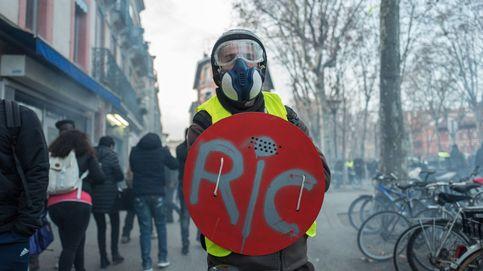 Chalecos amarillos en París