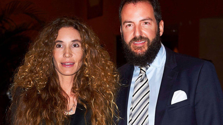 Blanca Cuesta y Borja Thyssen. (Getty)