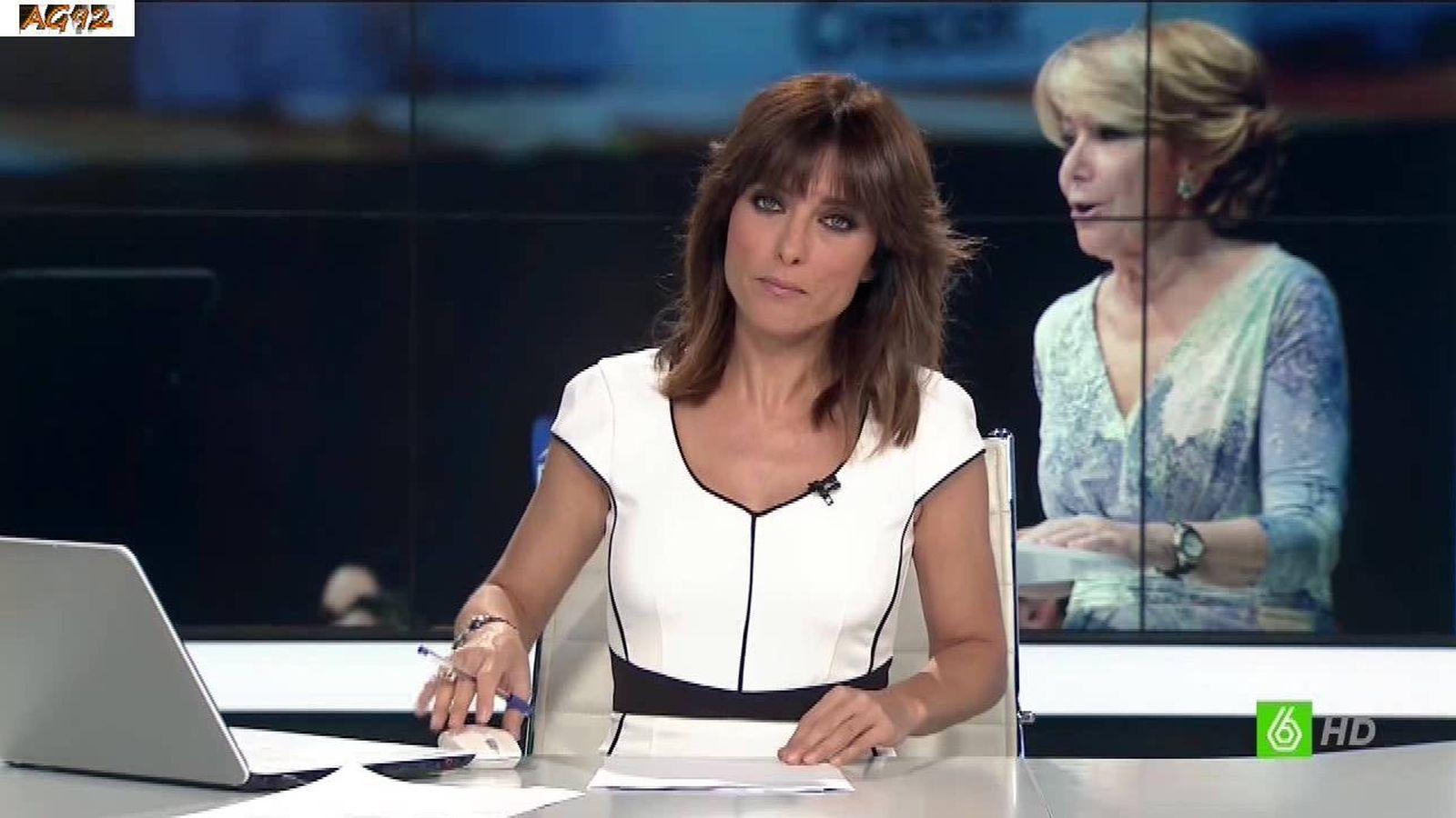 Foto: Helena Resano en 'La Sexta Noticias'. (Atresmedia)