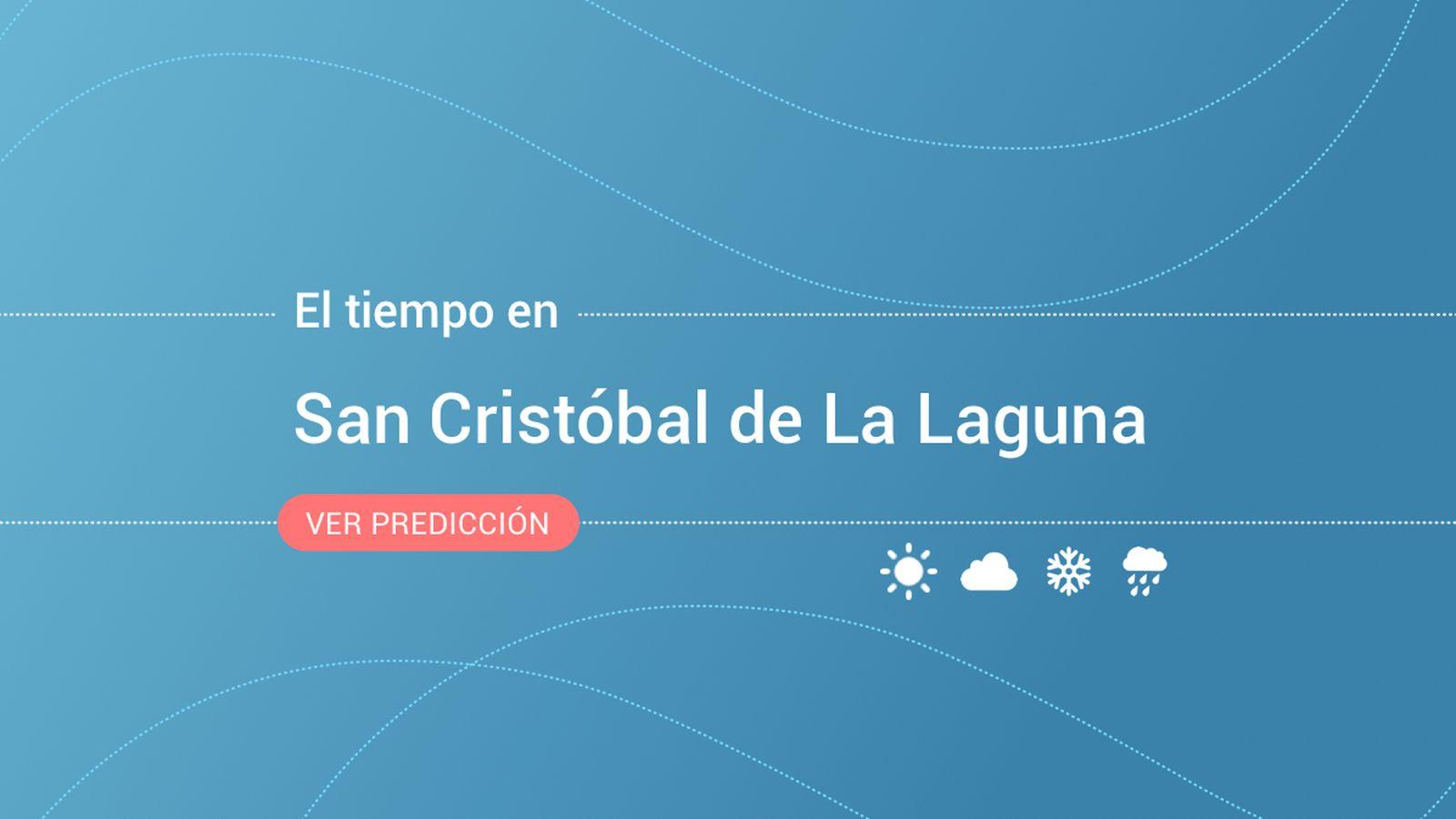 Foto: El tiempo en San Cristóbal de La Laguna. (EC)