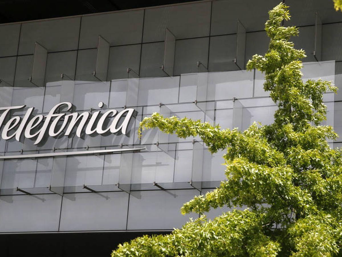 Foto: Fachada de la sede de Telefónica en Madrid. (EFE)