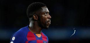 Post de El drama de Dembélé: se rompe el tendón y puede no volver a jugar esta temporada