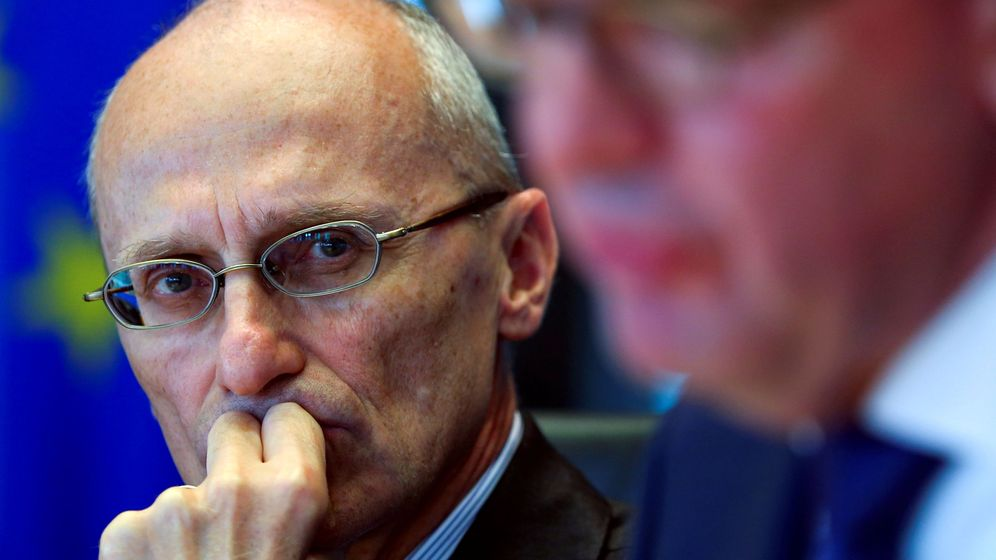 Foto: Andrea Enria, presidente del supervisor bancario del BCE. (Reuters)