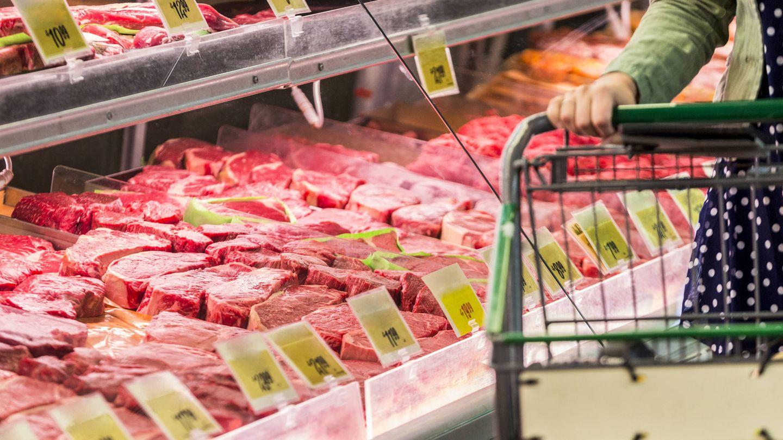 Sección de carnicería en el supermercado.   (iStock)