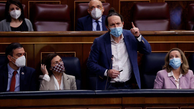 Iglesias advierte a Sánchez: retirará su apoyo si ensaya mayorías con Cs y PNV