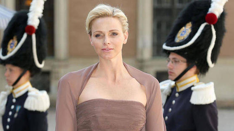Charlène en la boda de la princesa Magdalena (Gtres)