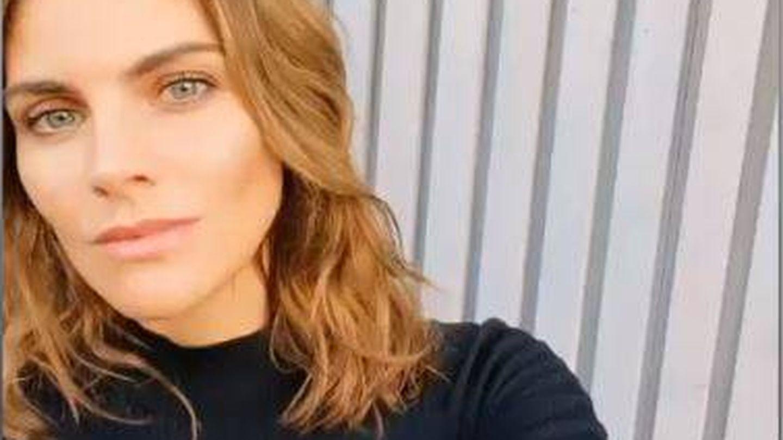 El nuevo cambio de look de Amaia Salamanca en sus stories de Instagram. (@amaiasalamanca)