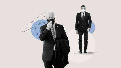 Sánchez y Biden, esto no es una 'love story'