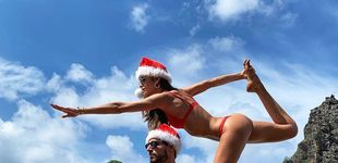 Post de Navidad vip: del baile de David Bisbal con su bebé al pavo de David Beckham
