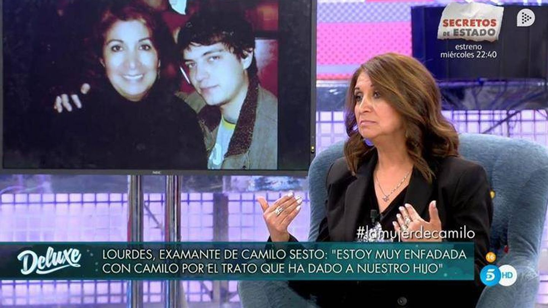 Lourdes Ornelas, en 'Sábado Deluxe'. (Mediaset)
