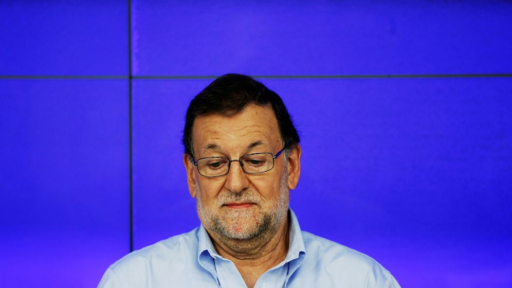 Foto: Mariano Rajoy en el Comité Ejecutivo Nacional. (Reuters)