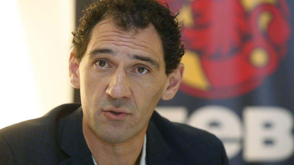 Foto: Jorge Garbajosa, presidente de la FEB. (EFE)
