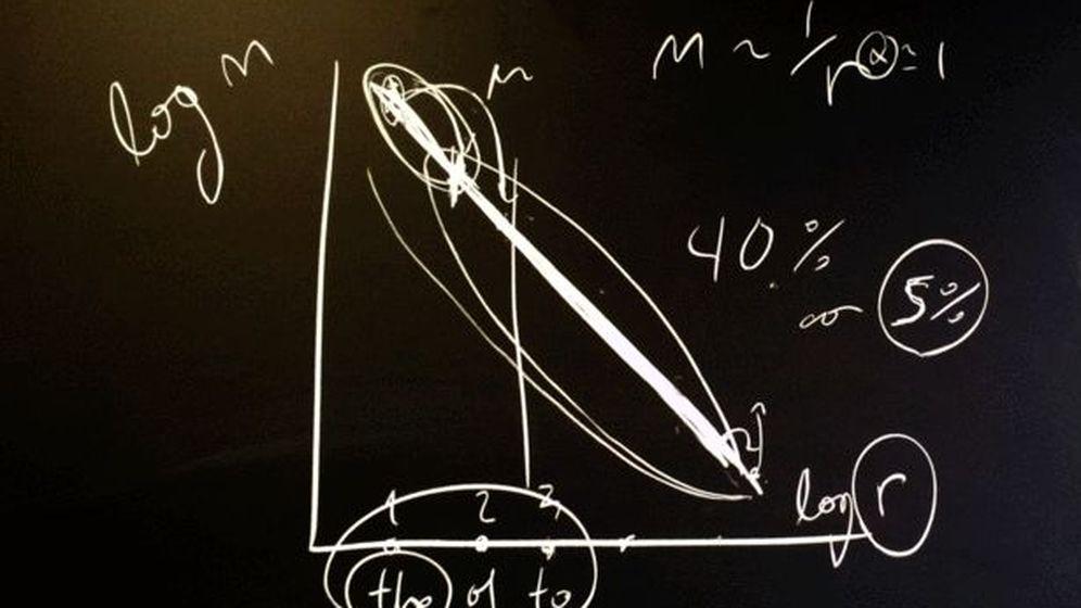 Foto: Gráfico de la ley de Zipf. / UAB