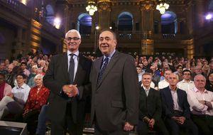 El independentismo escocés gana el debate clave antes del referéndum