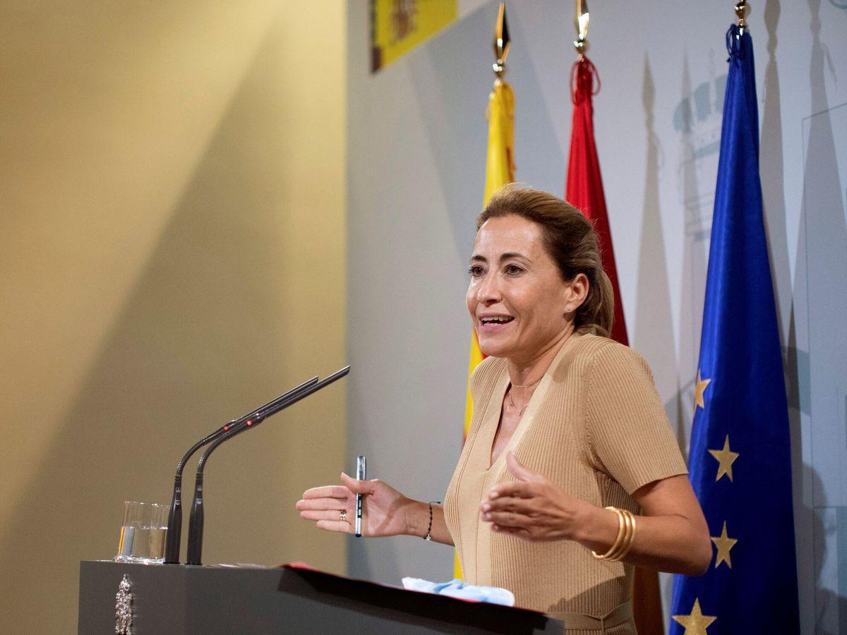 Foto: La ministra de Transportes, Movilidad y Agenda Urbana, Raquel Sánchez. (EFE)