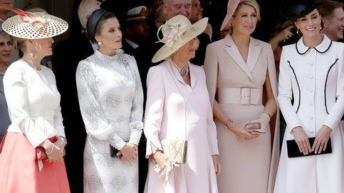 Día histórico: Letizia, Máxima y Kate Middleton, juntas en la Orden de la Jarretera