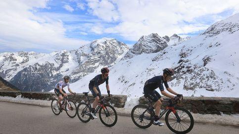 Huelga en el Giro: los ciclistas acortan unilateralmente 100 km. la etapa por la lluvia