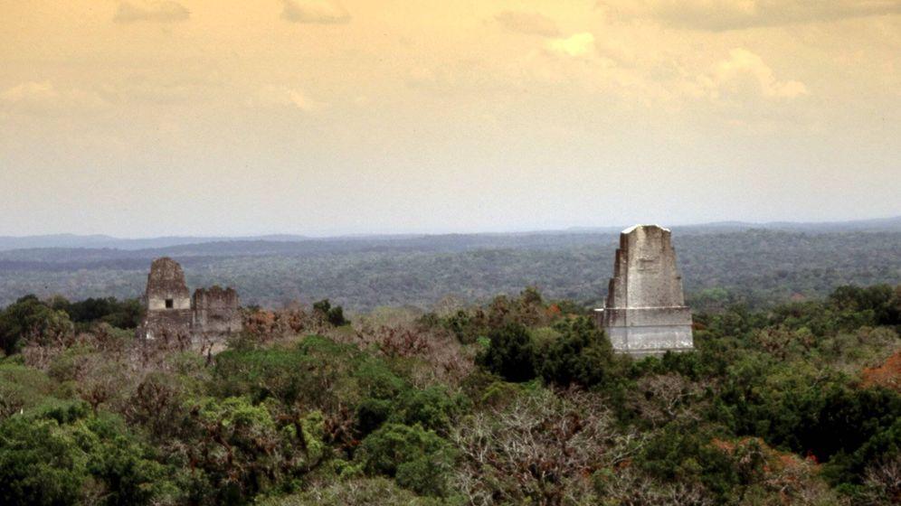 Foto: Templos de Tikal en Guatemala. (Cordon Press)