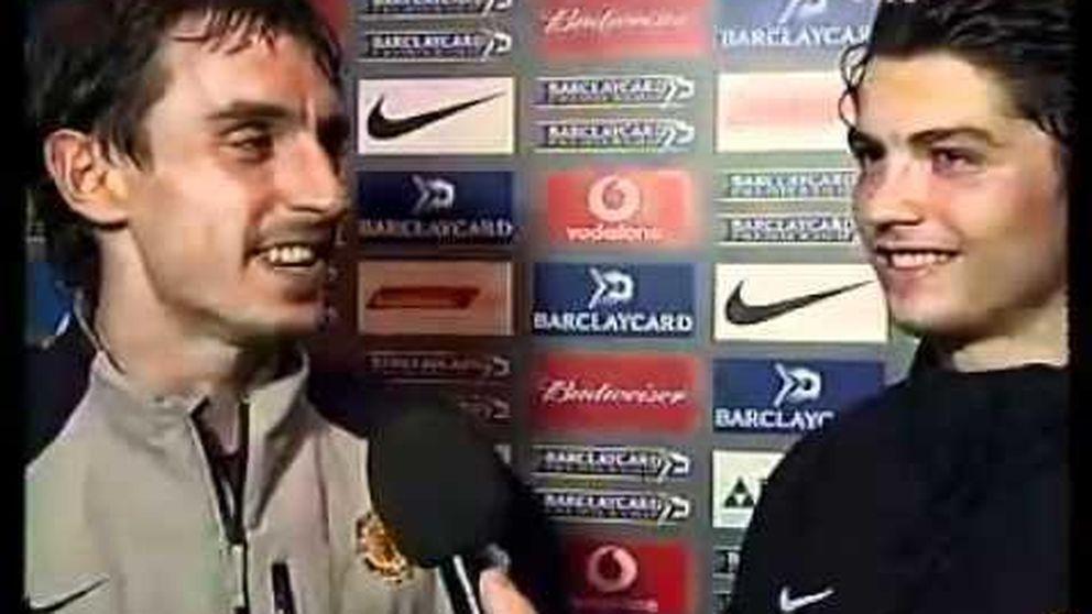 Así hablaba Neville de un 'niño' Cristiano