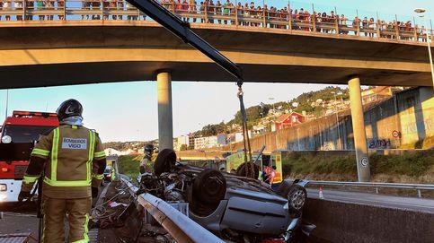 Los tres jóvenes muertos en el accidente de tráfico de Vigo tenían entre 17 y 18 años