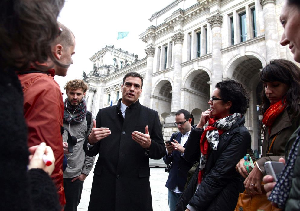 Foto: Pedro Sánchez, fotografiado hoy en Berlín (EFE).