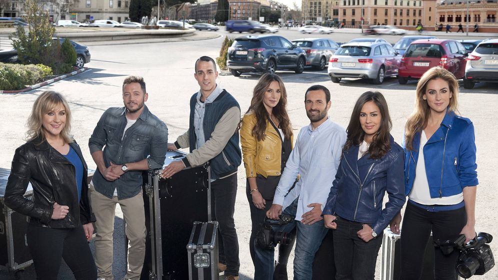 Foto: El nuevo equipo de reporteros de 'En el punto de mira'. (Mediaset)