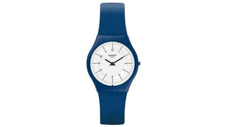 Reloj Marmarella de Swatch. (Cortesía)