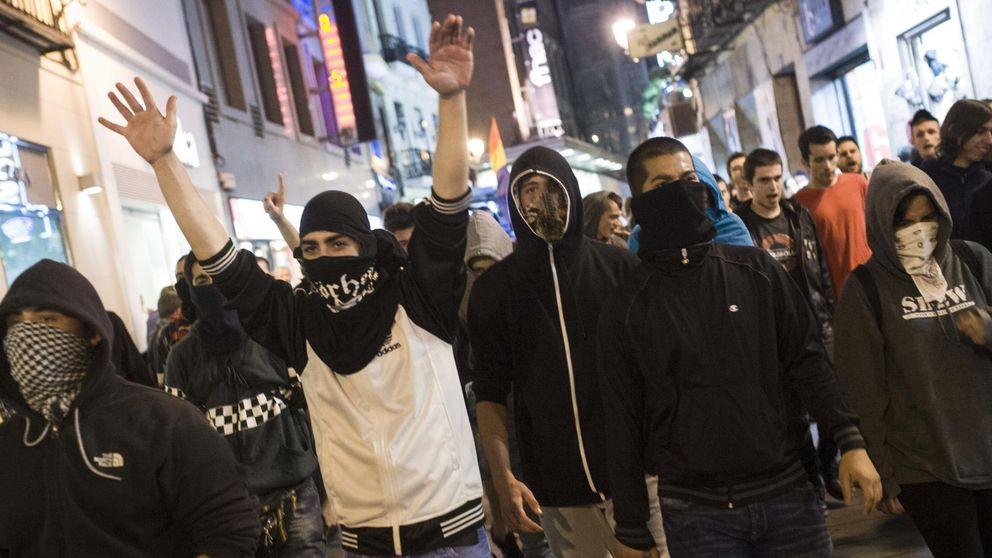 Detenida la abogada del 25-S en una marcha antimonárquica