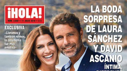 El bodorrio de Laura Sánchez y David Ascanio y las vacaciones de Lydia Lozano con Charly