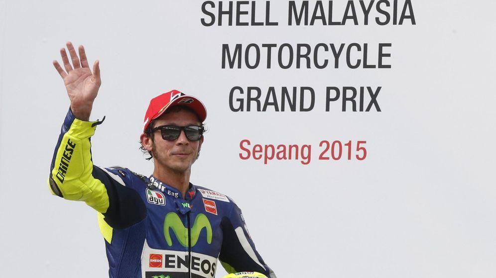 Foto: Valentino Rossi, en el Gran Premio de Malasia (REUTERS)