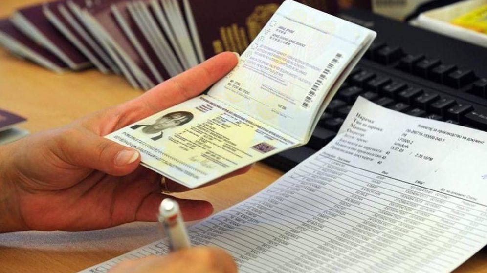 Foto: Visado en el pasaporte (EFE)
