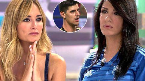 La examante de Courtois entra en 'Sálvame' para lanzar una advertencia a Alba Carrillo