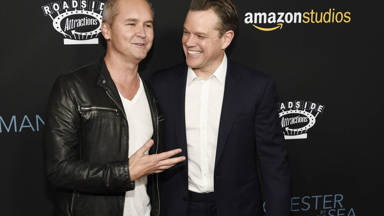 Roy Price de Amazon Studios (izquierda) con Matt Damon. (Gtres)