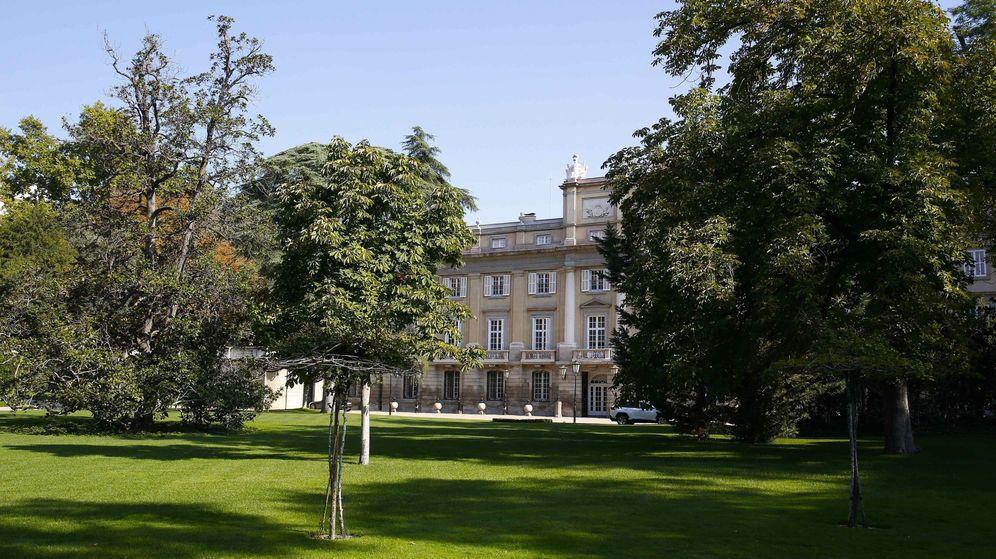 Foto: Vista de la fachada del palacio de Liria, esta semana. (EFE)
