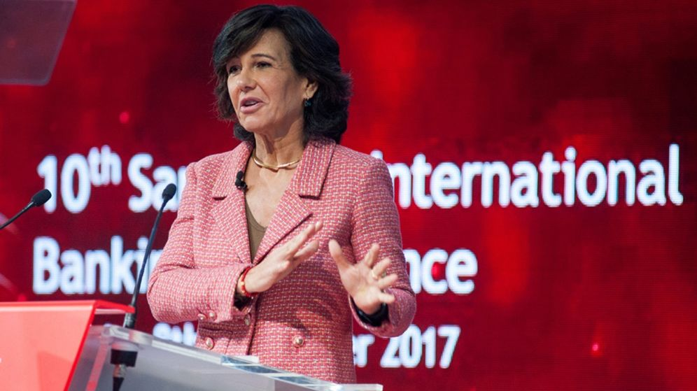 Foto: Ana Botín, presidenta de Banco Santander