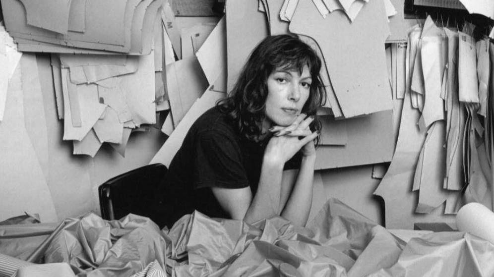 Foto: Katharine Hamnett la inventora de las 't-shirts' como herramienta política.