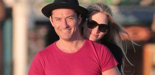 Post de Jude Law desvela en televisión el nacimiento de su sexto hijo