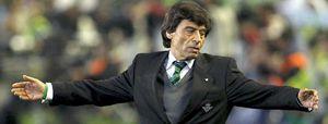 Chaparro, destituido como entrenador del Betis